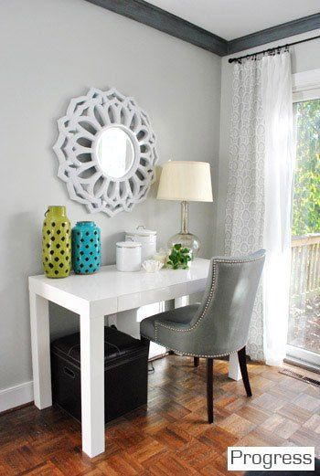 Young House Love - Living Room - Benjamin Moore Moonshine | paint ...