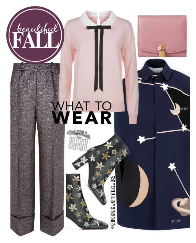 """""""✔️"""" by komilash ❤ liked on Polyvore featuring Racil, Valentino, Dolce&Gabbana and Claudie Pierlot"""