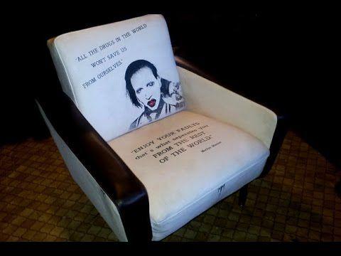 Tutorial   Stoff Mit Wandfarbe Streichen / Designer Sessel   Selbstgemacht    YouTube