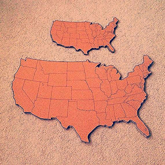 Photo of Travel Map Diy Pin Boards | Travel Map