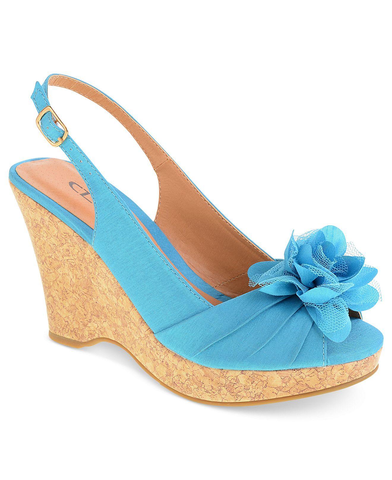 CL by Laundry Shoes, Ilena3 Platform Wedge Sandals - All Women's Shoes - Shoes - Macy's