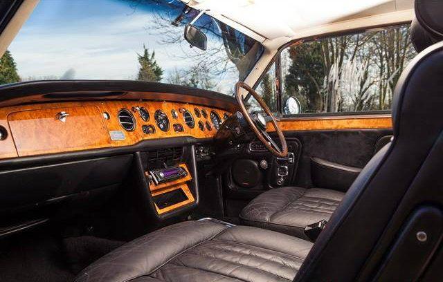 Rolls-Royce Corniche Two-door Saloon.  Chassis CBH11387 (1972)