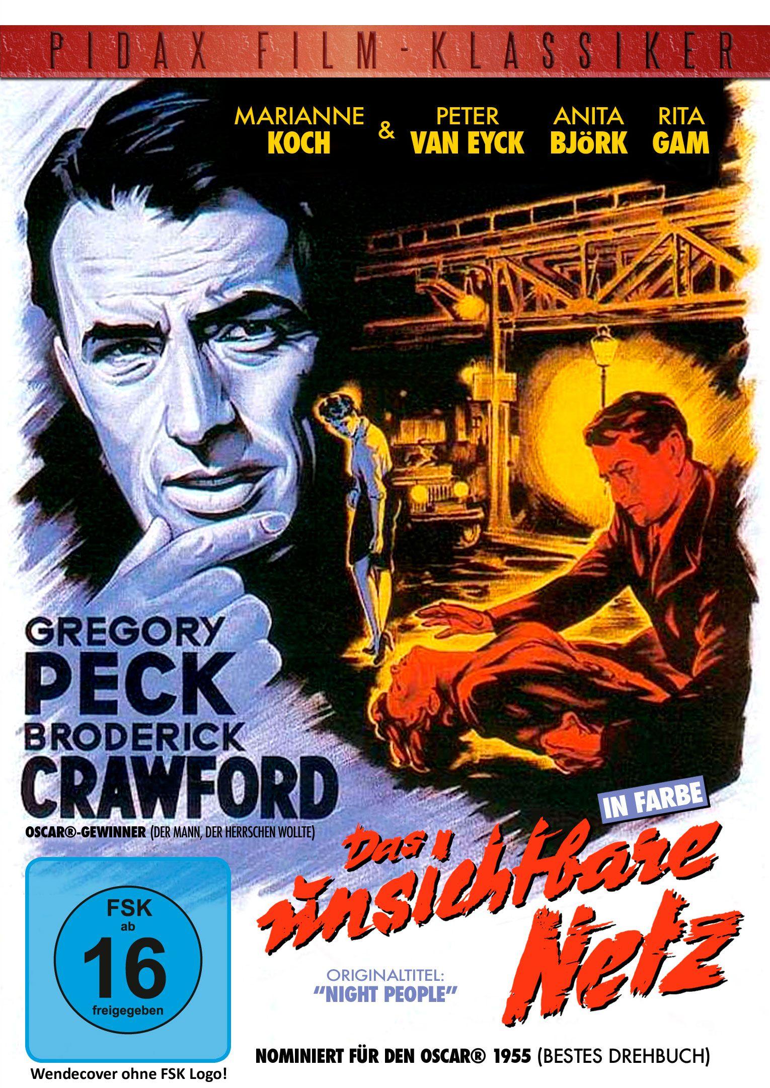 Spannender Agentenfilm mit Hollywood-Star Gregory Peck, Marianne Koch und Peter van Eyck