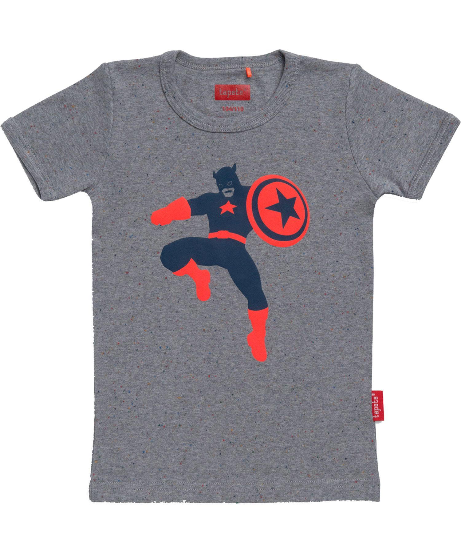 cheap for discount 7341d b0c81 Tapete super cool grey T-shirt with super heroT-shirt | Boys ...
