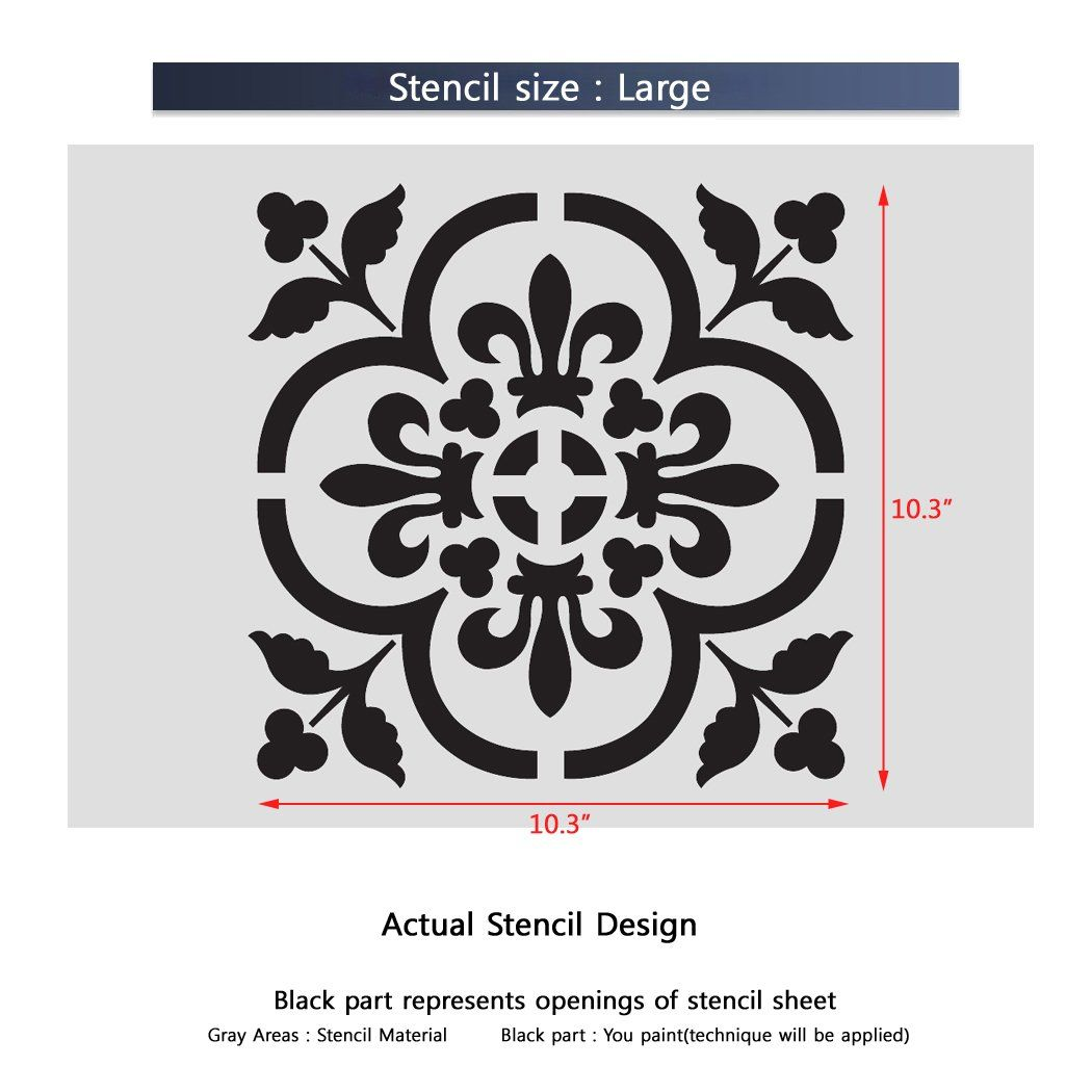 J boutique stencils large wall stencils damask stencil diy j boutique stencils large wall stencils damask stencil diy reusable pattern decor faux mural v0013 amipublicfo Image collections