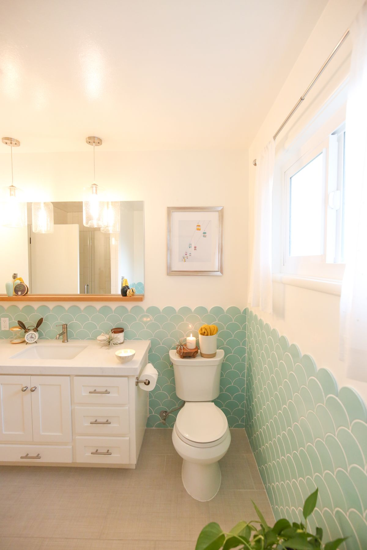 Room Reveal Kids And Guest Bathroom Pinterest