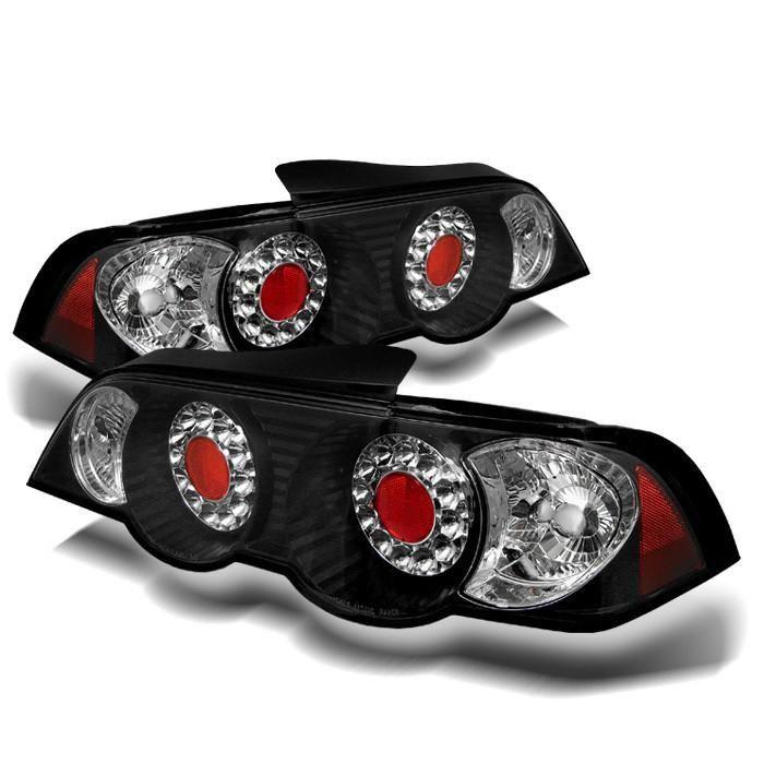 Acura RSX 02-04 LED Tail Lights - Black