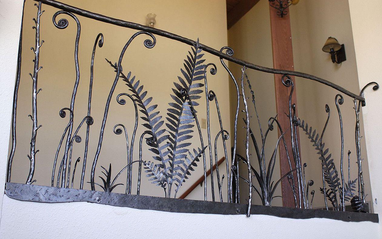Ornamental Wrought Iron Railings