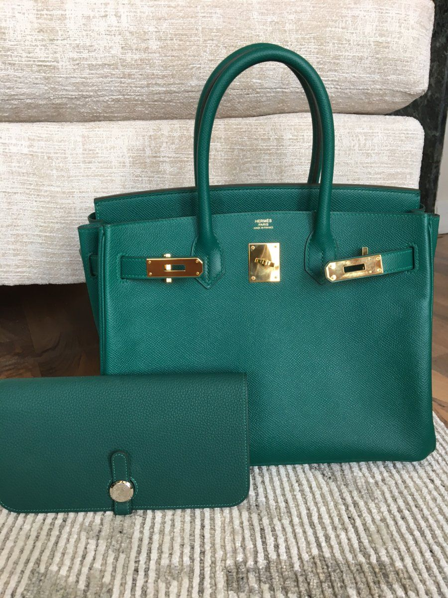 Malachite B epsom GHW vs Malachite Dogon Togo phw   Bags have it in ... 1c2371af3c