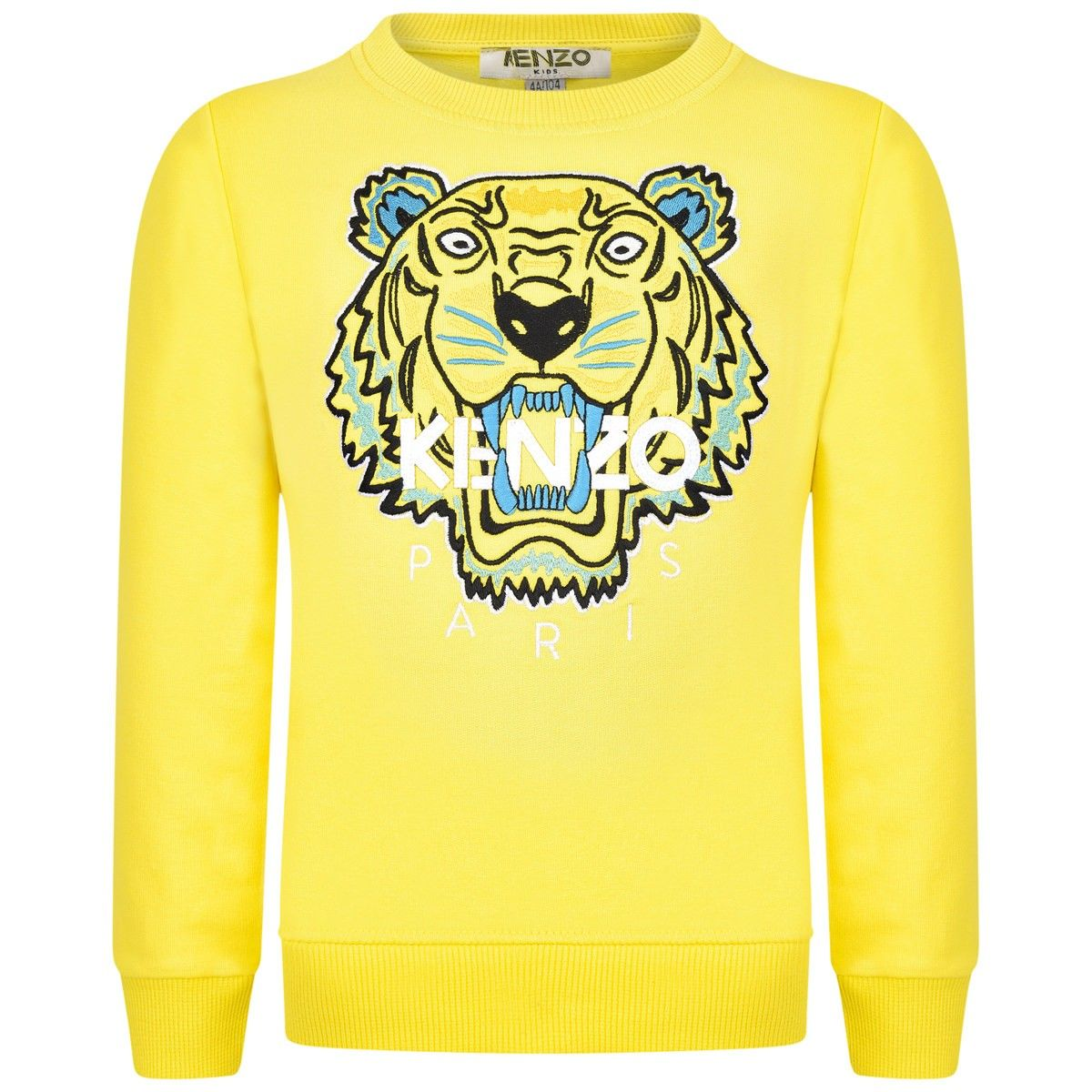 d91a4803 Kenzo Boys Yellow Embroidered Tiger Sweater | Kenzo Paris