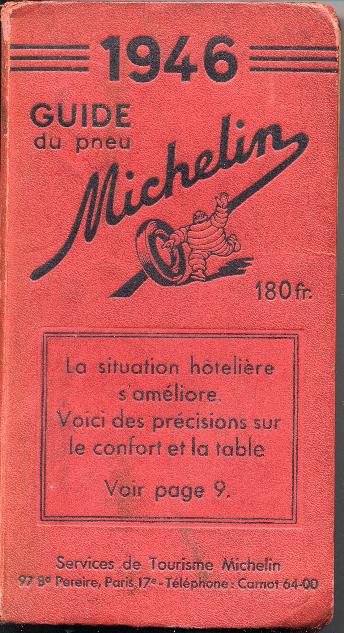 First Michelin Guide 1946
