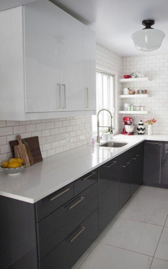 Dise os de cocinas con azulejos muy actuales espacios for Muebles de cocina modernos pequenos