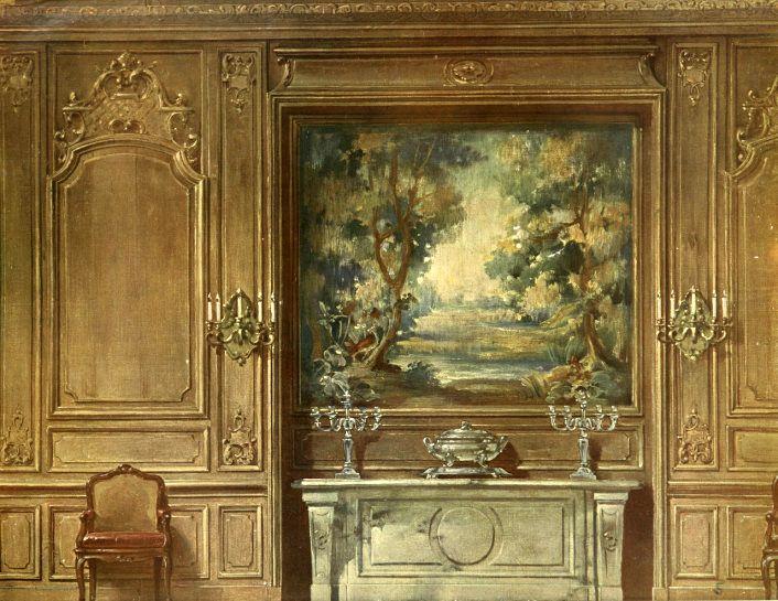 Georges Rémon - Décorateur - Planches Couleur - Style Louis IV