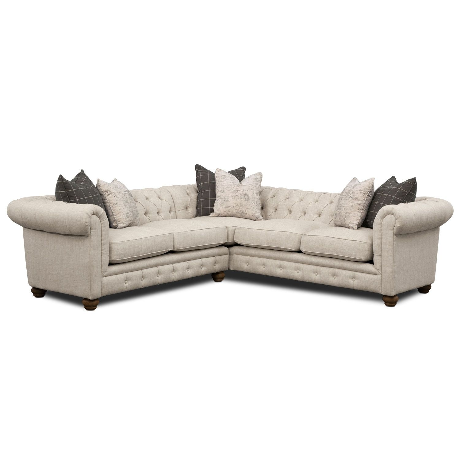 Best Living Room Furniture Madeline 2 Piece Sectional And 400 x 300