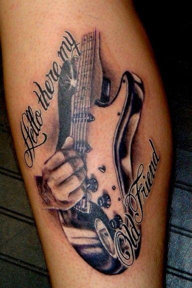 Afficher l\u0027image d\u0027origine. Tatouage De GuitareTatouages