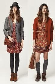Como usar un vestido en invierno