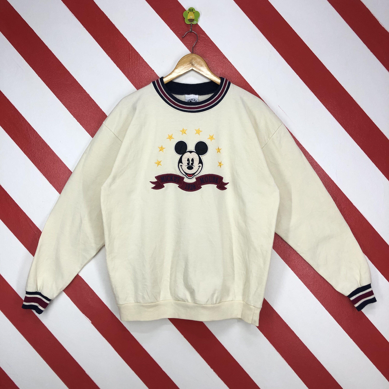 Vintage 90s Mickey Mouse Sweatshirt Crewneck Disney Mickey Etsy Mickey Mouse Sweatshirt Mickey Mouse Cartoon Sweatshirts [ 3000 x 3000 Pixel ]