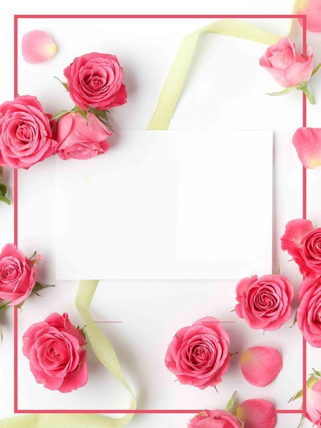 สีชมพู ดอกไม้ โรส ช่อดอกไม้ พื้นหลัง ในปี 2020 ไอเดียวัน
