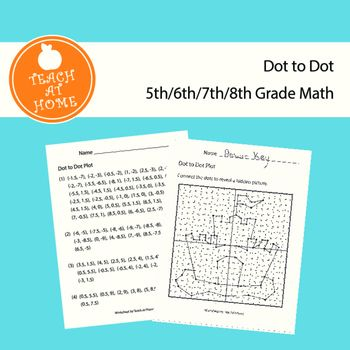 Sandcastle Dot to Dot, Graphing Ordered Pairs, Hidden Picture | Math ...