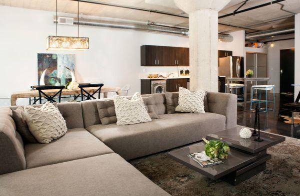 70 idées du0027aménagement de salon moderne pour l`homme Living room - decoration de salon moderne