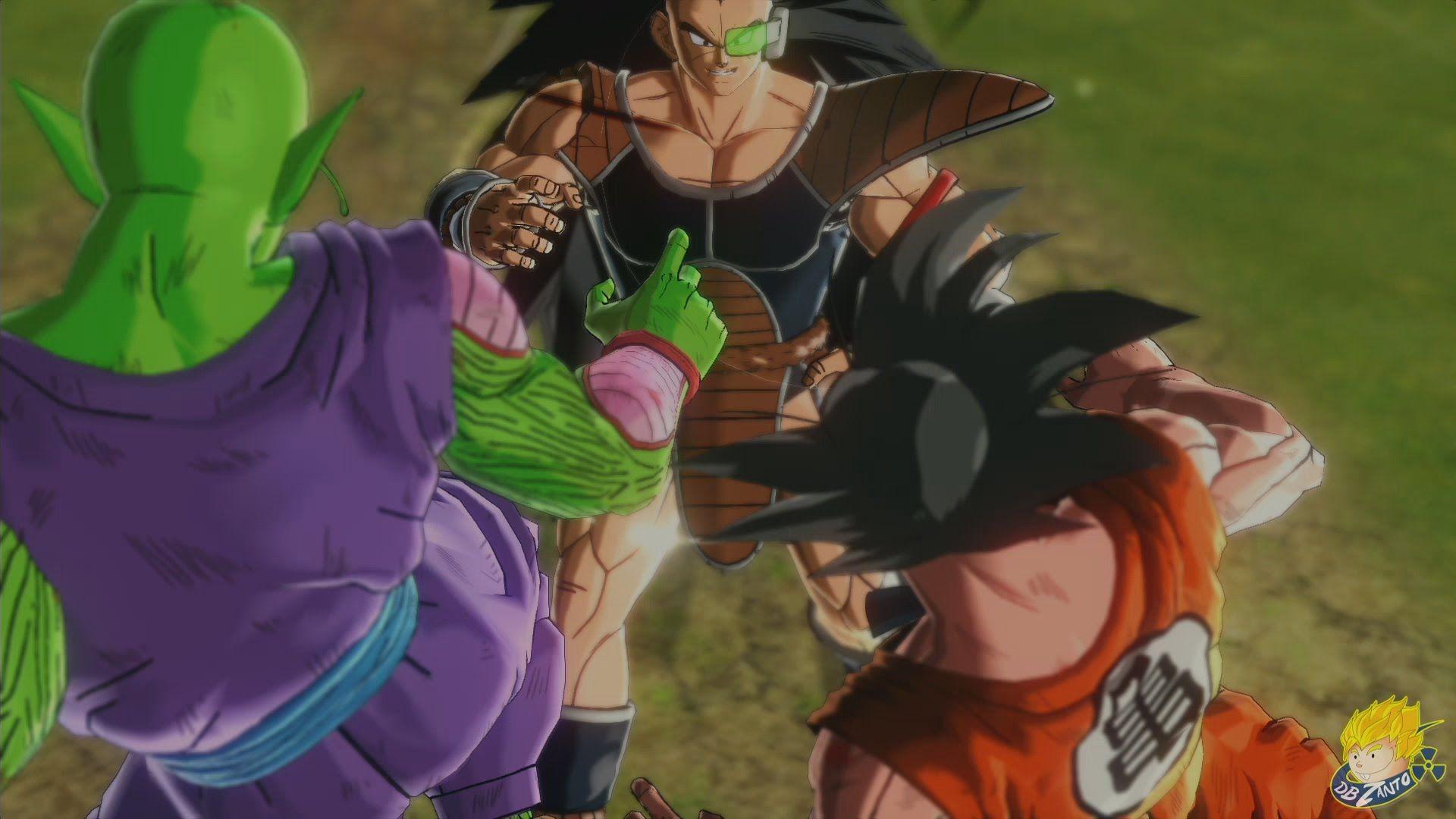 Dragon Ball Xenoverse Ps4 Goku Piccolo Dbzanto Vs Raditz Saiyan S Dragon Ball Goku Saiyan