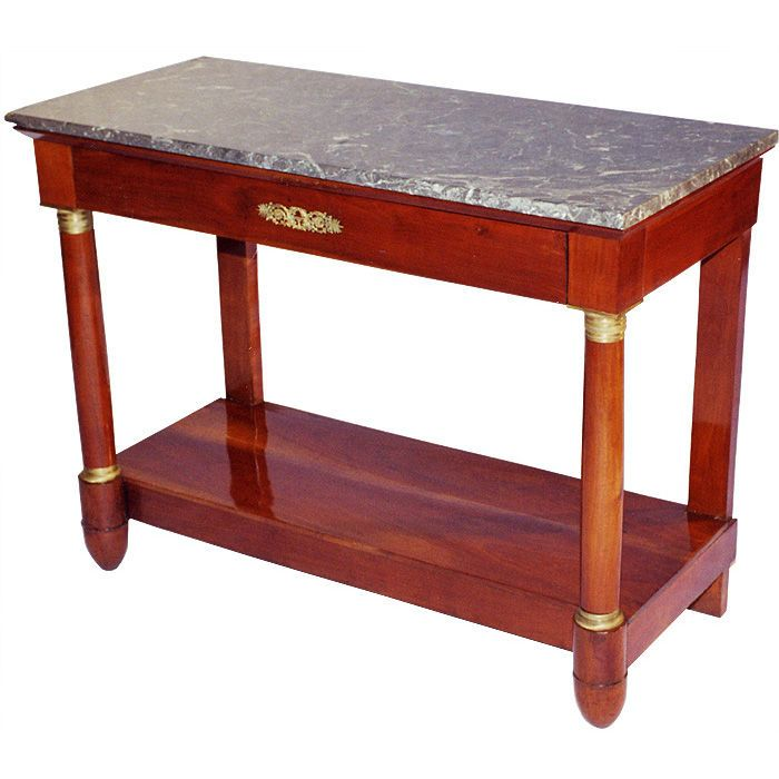 1stdibs | French Influenced Biedermeier Console Table