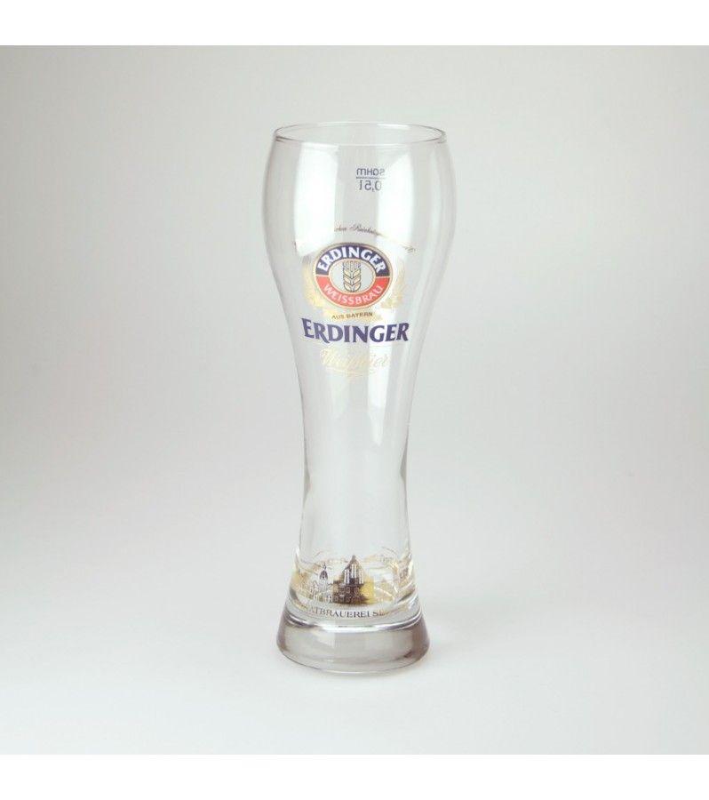 Verre à Bière Erdinger. Verre à Bière de Collection