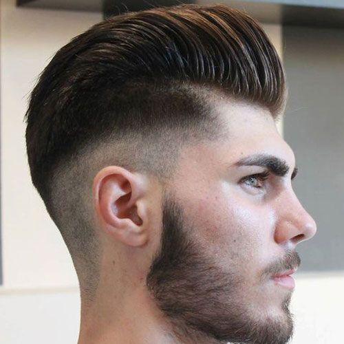 Corte de pelo desvanecido hombre 2017