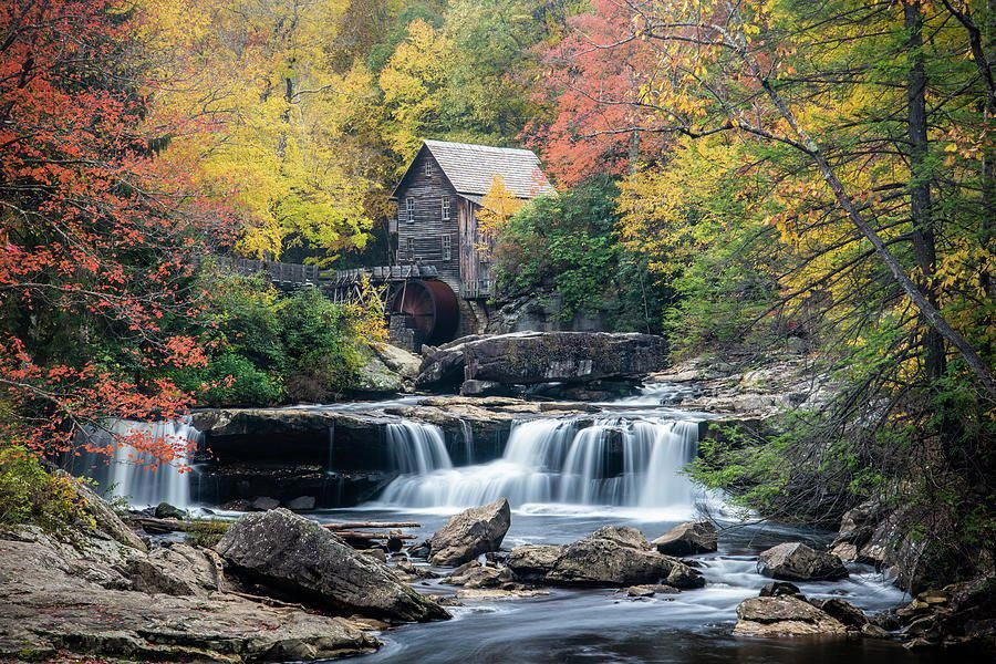 Babcock State Park of West Virginia by TrieuHuong Nguyen
