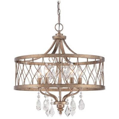 Youll love the lakewood 4 light drum chandelier at wayfair great deals on