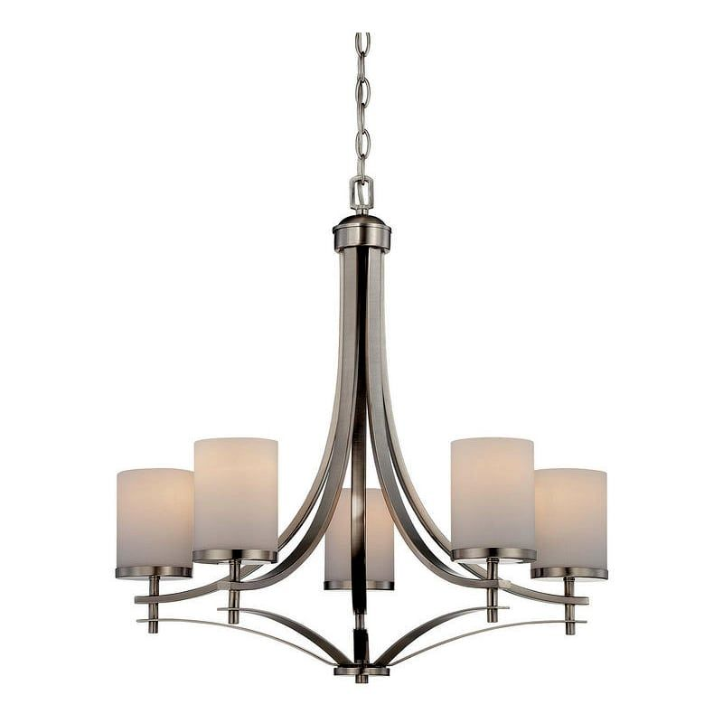 """Savoy House 1-330-5 Colton 5 Light 26"""" Wide 1 Tier ..."""