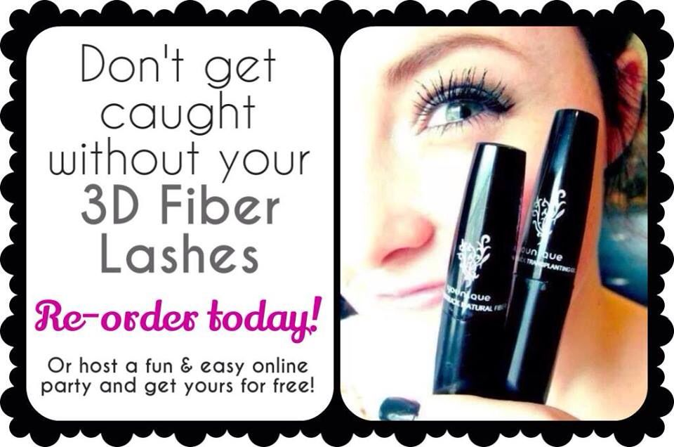 Re-Order Your Lashes every 2-3mths @https://www.youniqueproducts.com/joannefenton and thankyou for choosing Younique!!