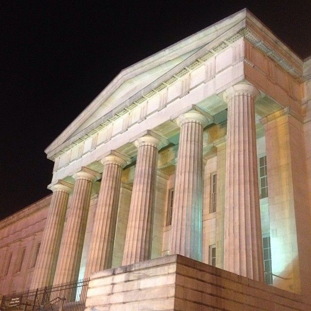 Art Places In Washington Dc: Smithsonian Art Museum, Washington DC. #travel