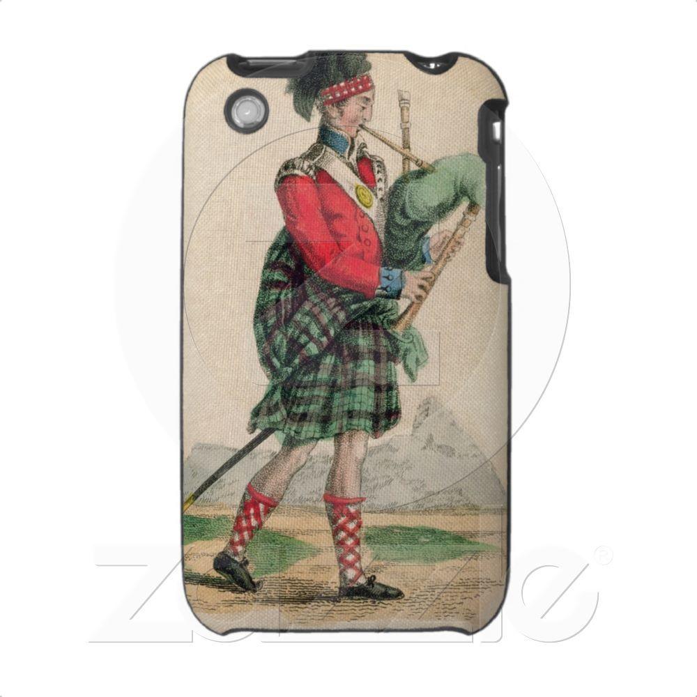 The Scotch Piper Iphone 3 Cover from Zazzle.com