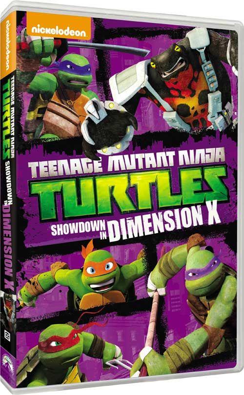 Teenage Mutant Ninja Turtles - Nickelodeon Announces 'Showdown in Dimension X' DVD