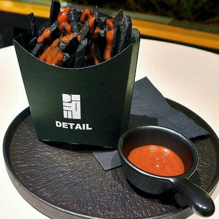 Image result for black fries in japan