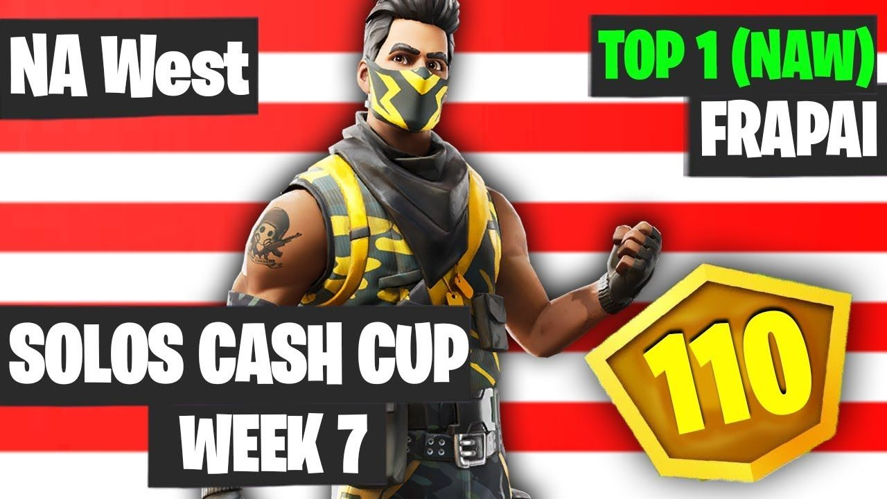 Fortnite Solos Cash Cup Week 7 Highlights Nae Winner Frapai Highlights Fortnite World Cup Cool Gifs