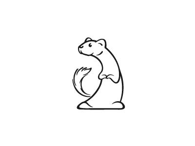 Weasel By Jelica Jeremic Design Popular Dribbble Shots Pet Logo Design Funny Drawings Graphic Design Blog