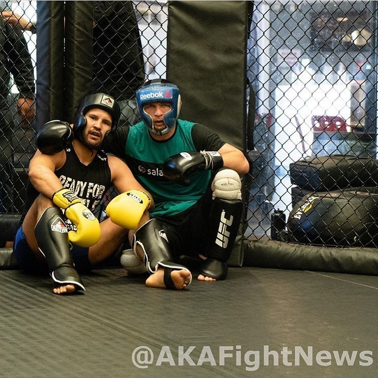 Thank you brother for all sparring @fergzzt 👊🥊 . #ufc#aka#wrestling#sport#boxing#sport#fitness#khabi...