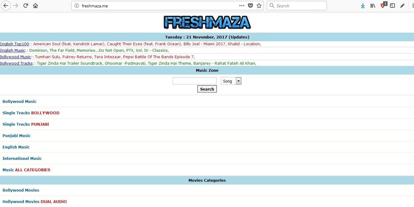 Freshmazame Offical Site For Freshmaza Latest Hindi Punjabi Mp3