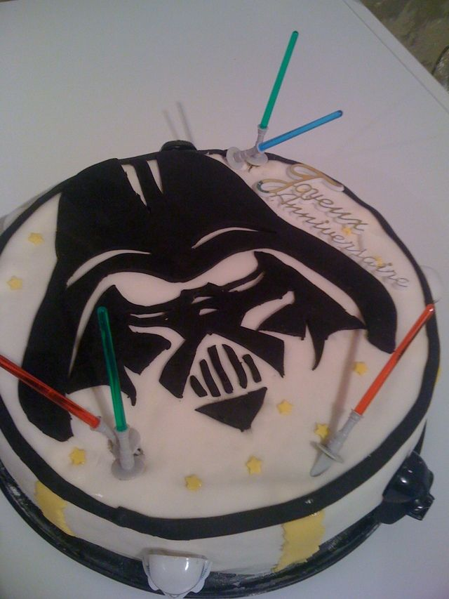 Decoration Gateau Anniversaire Star Wars