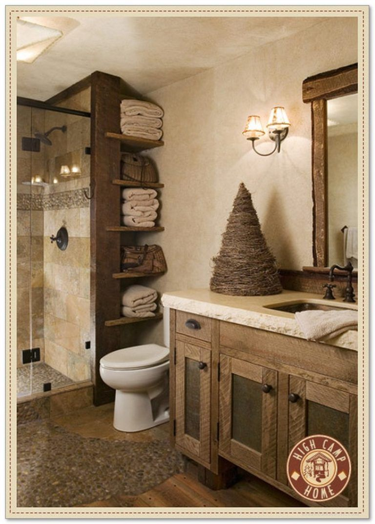 99 Small Master Bathroom Makeover Ideas On A Budget 54