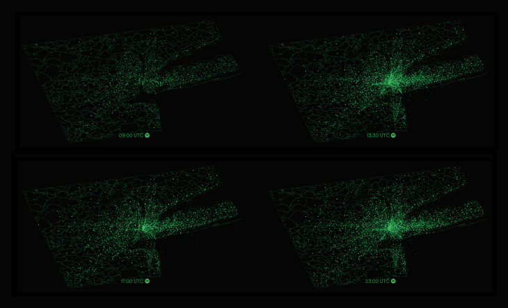 10 Data Art Projects by Spotify Analysts & Designers (With