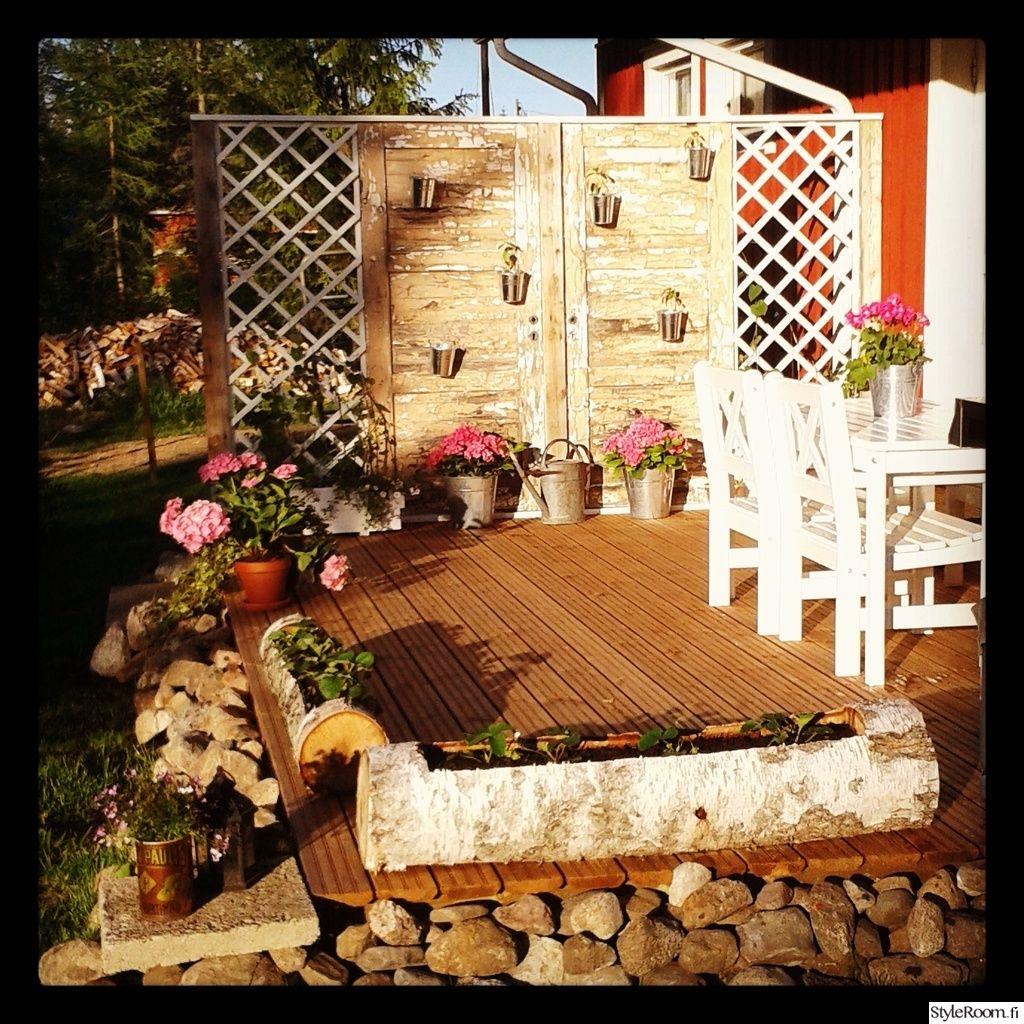 Rustic garden Tee itse - DIY,terassi,puutarha,takapiha,terasstikalusteet,kukkalaatikko