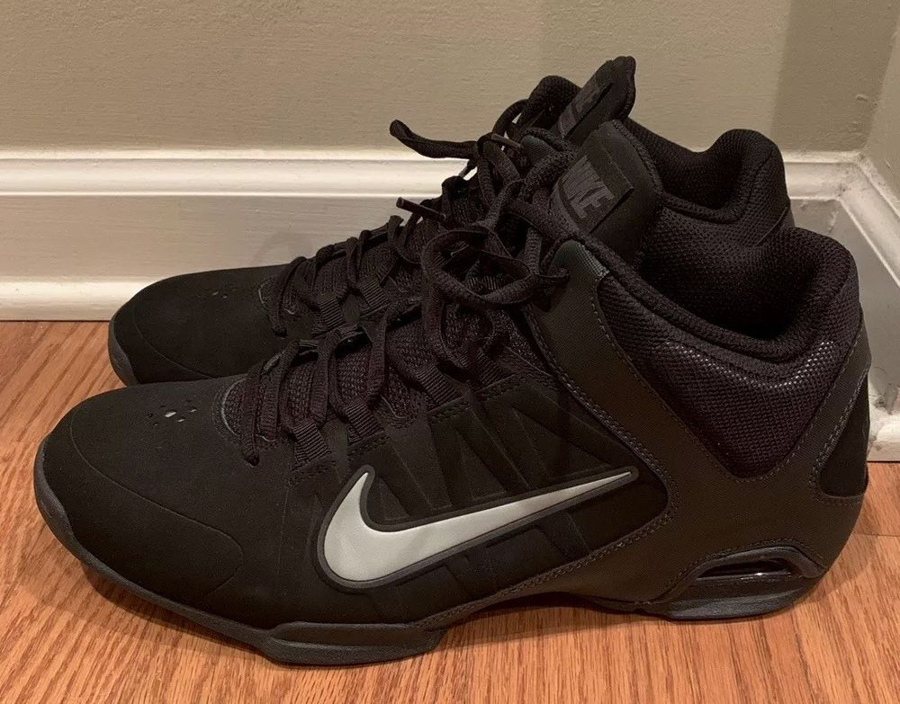 db477204c29 NIKE AIR VISI PRO 4 599569-001 BLACK HI TOP Mens SNEAKERS BASKETBALL SHOES  10.5  fashion  clothing  shoes  accessories  mensshoes  at…