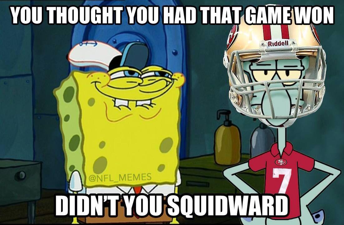 Kaepernick Squidward