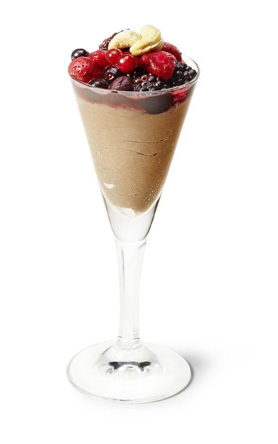 Unser veganes Mousse au chocolat ist ein delikates Dessert der feinsten Sorte!