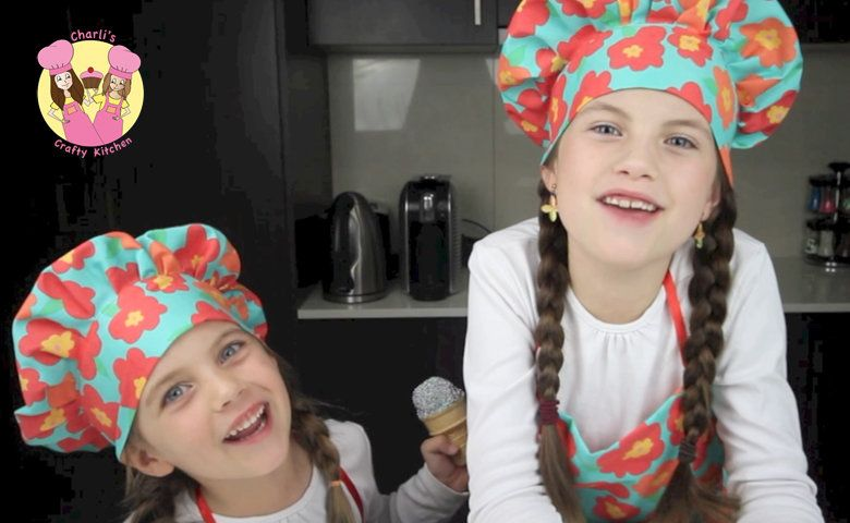 Charli S Crafty Kitchen Cooking With Kids Kids Kitchen Cooking Channel