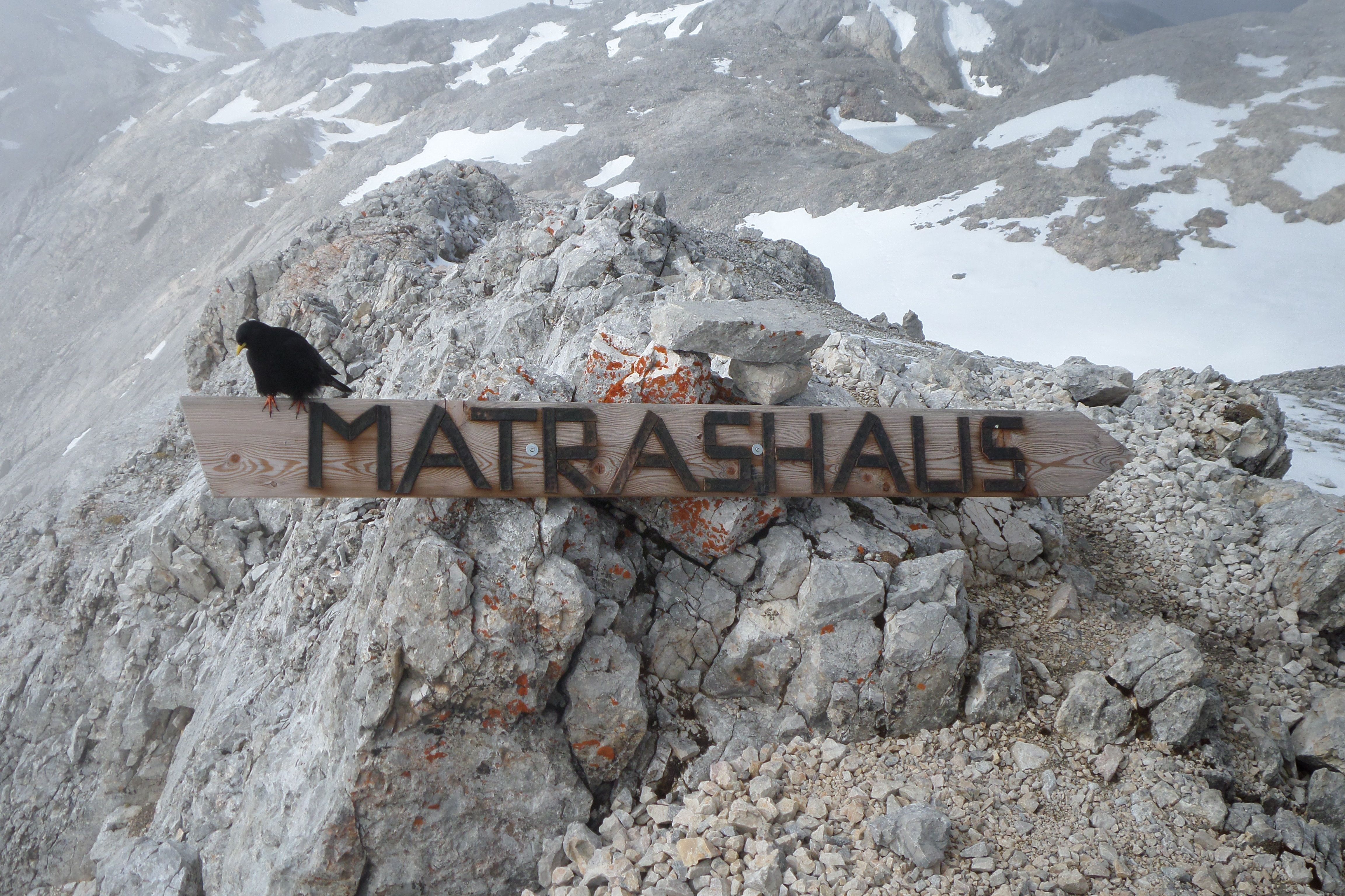 Klettersteig Hochkönig : Der königsjodler am hochkönig nahe salzburg ist ein absolut