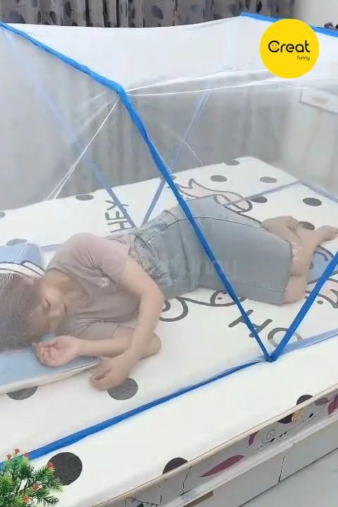 Foldable Mosquito Net Canopy For Crib Baby Mosquit
